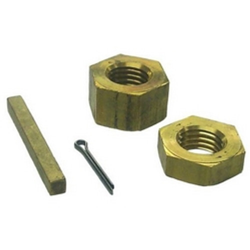 Sierra Propeller Nut Kit / Shaft DIA 1-1/4""