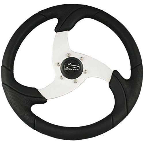 Schmitt Folletto Steering Wheel -Silver Spoke