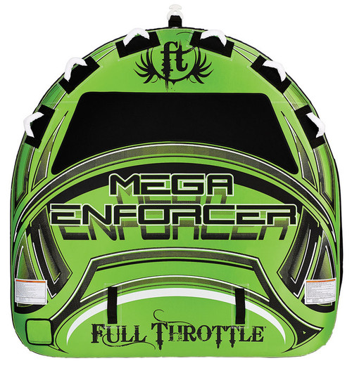 "Full Throttle TowableMega Enforcer 80"" Green"