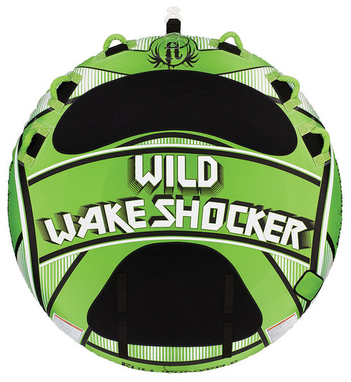"Full Throttle Towable Wake Shocker 80"" (Green)"