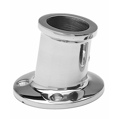 "Taylor Made 1-1/4"" SS Top Mount Flag Pole Socket"