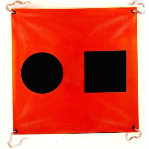 Cal-June S.O.S. Distress Flag USCG Approved with Storage Bag
