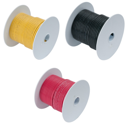 Ancor  4 AWG Tinned Copper Battery Cable - 500' Feet Spool