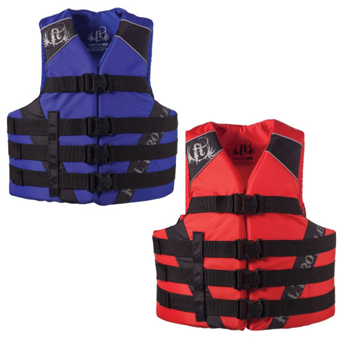 Full Throttle Adult Water Sports Nylon Vests / Available In Many Sizes