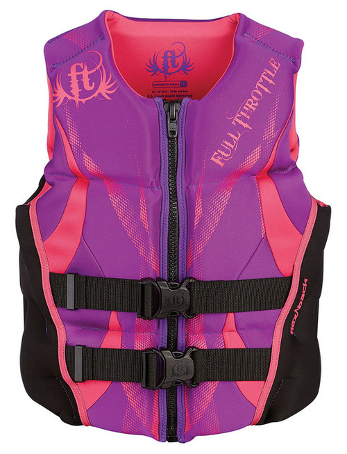 Full Throttle Women's Flex-Back Rapid Dry/Hinged Vests