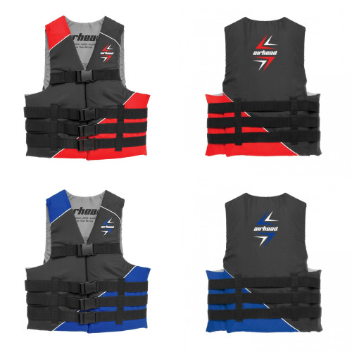 Airhead Slash Adult Life Vest / Available in Red & Blue