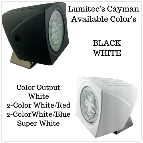 Lumitec Cayman - Spot/Flood Light