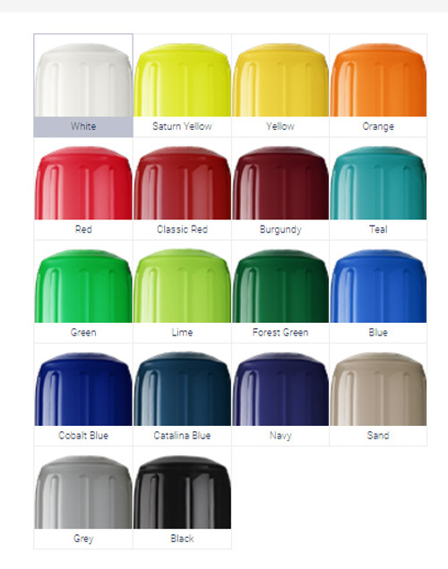 HTM-Series Boat Fender ( Available In 4 Sizes & Variety Of Colors)
