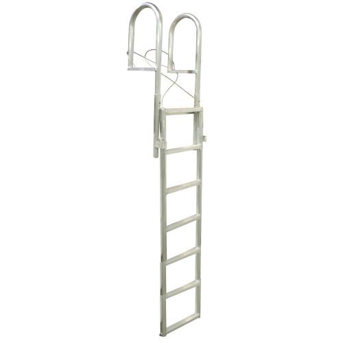 Dock Edge SLIDE-UP Aluminum 7-Step Dock Ladder