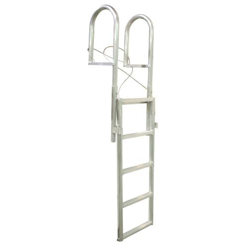 Dock Edge SLIDE-UP Aluminum 5-Step Dock Ladder