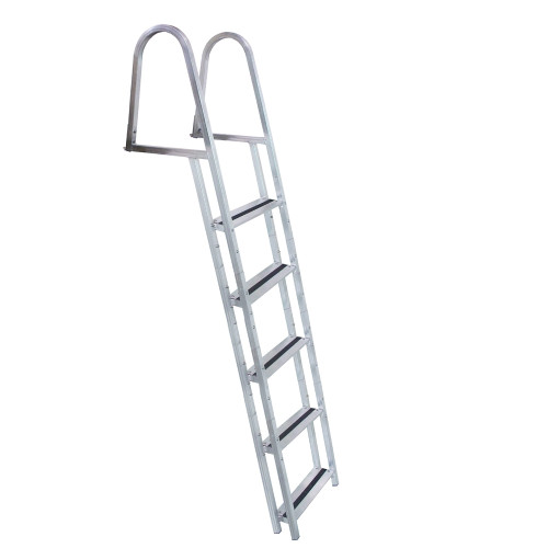 Dock Edge STAND-OFF Aluminum 5-Step Ladder w/Quick Release