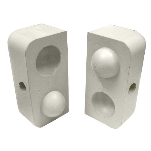"Dock Edge Dockap Premium Foam Profile Large 2"" Cap - Putty"
