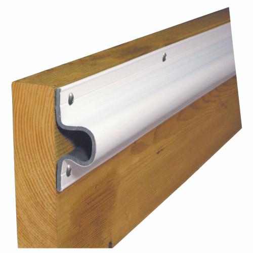 "Dock Edge ""C"" Guard Economy PVC Profiles 10ft Roll - White"