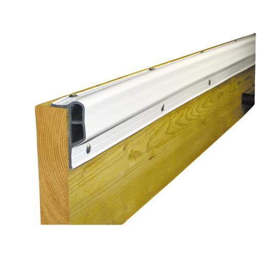 Dock Edge Dockguard Economy PVC Profile 10ft. Roll - White