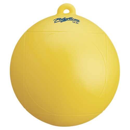POLYFORM WATER SKI SLALOM BUOY - YELLOW
