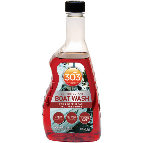 303 BOAT WASH W/UV PROTECTANT - 32OZ