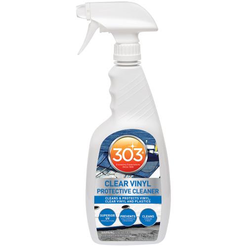 303 MARINE CLEAR VINYL PROTECTIVE CLEANER W/TRIGGER SPRAYER - 32OZ