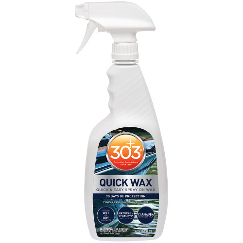 303 MARINE QUICK WAX W/TRIGGER SPRAYER - 32OZ