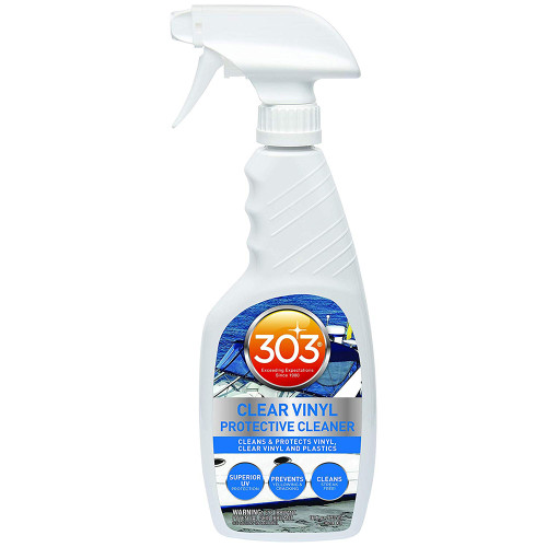 303 MARINE CLEAR VINYL PROTECTIVE CLEANER W/TRIGGER SPRAYER - 16OZ