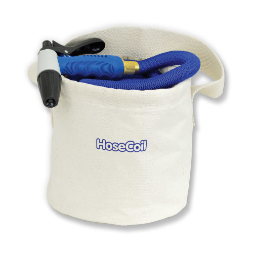 HOSECOIL CANVAS BUCKET F/75' EXPANDABLE HOSE KIT
