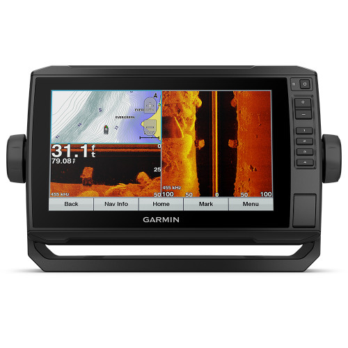 "Garmin EchoMap Plus 93sv 9"" Chartplotter/Sonar Without Transducer with U.S. LakeVü HD Maps"