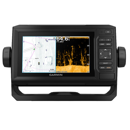 Garmin ECHOMAP Plus 64CV / US Offshore g3 w/GT23
