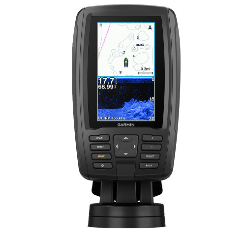 GARMIN ECHOMAP™ PLUS 44CV BLUECHART® G3 W/GT20-TM TRANSDUCER