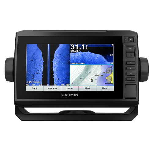 ECHOMAP™ Plus 73sv LakeVü G3 with GT52HW-TM Transducer