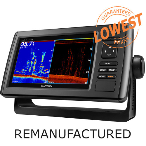 GARMIN ECHOMAP™ 74DV W/O TRANSDUCER *REMANUFACTURED