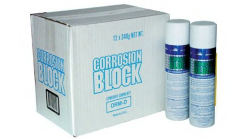 CORROSION BLOCK 12OZ AEROSOL CAN - NON-HAZMAT, NON-FLAMMABLE & NON-TOXIC *CASE OF 12*