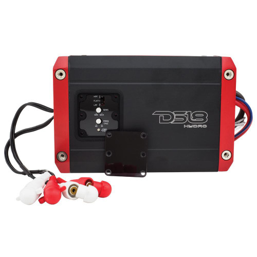 DS18 HYDRO FULL RANGE DIGITAL MARINE 2-CHANNEL AMP - 400W