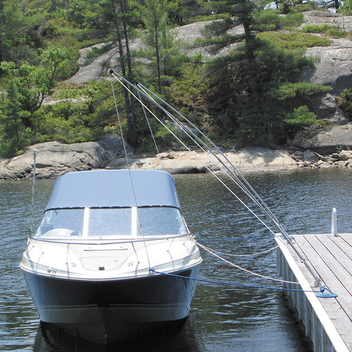 DOCK EDGE PREMIUM MOORING WHIPS 2PC 16FT 20,000LBS UP TO 33FT