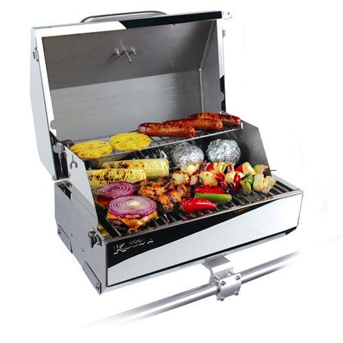 """Kuuma Elite 216 Gas Grill - 216"""" Cooking Surface - Stainless Steel"""