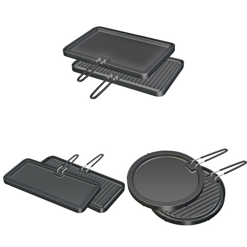MAGMA 2 SIDED NON-STICK GRIDDLE