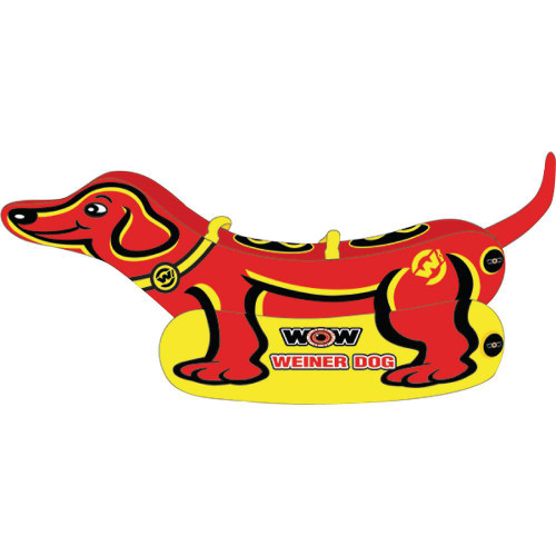 WOW WATERSPORTS WEINER DOG 2 TOWABLE - 2 PERSON