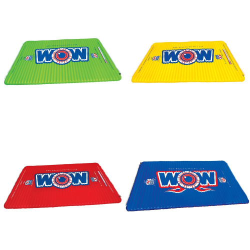 WOW WATERSPORTS WATER WALKWAY / PLANKS (Available Colors: Green,Yellow  & Red)