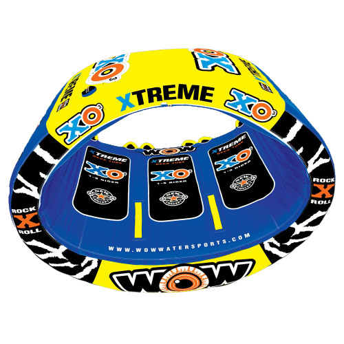 WOW WATERSPORTS XO EXTREME TOWABLE - 3 PERSON