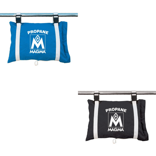 MAGMA PROPANE /BUTANE CANISTER STORAGE LOCKER/TOTE BAG ( Available Colors: Pacific Blue & Jet Black)