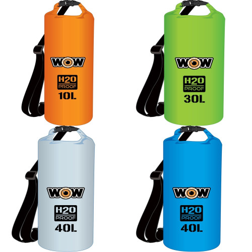 WOW WATERSPORTS H2O PROOF DRY BAG
