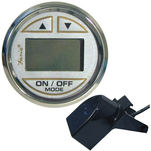 "FARIA 2"" DEPTH SOUNDER W/IN-HULL TRANSDUCER - KRONOS"