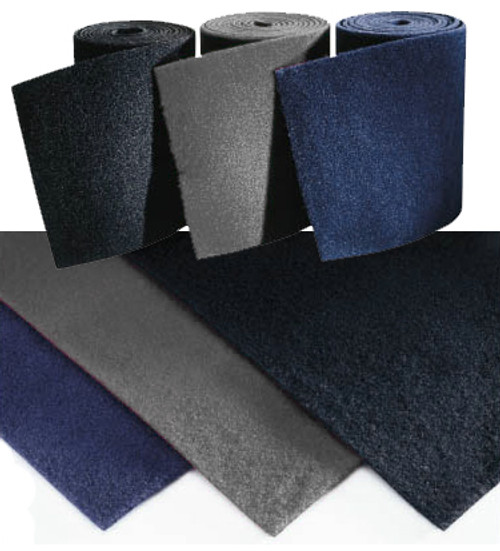 "C.E. SMITH CARPET ROLL  11""W X 12'L (Available Colors Black,Blue & Grey)"