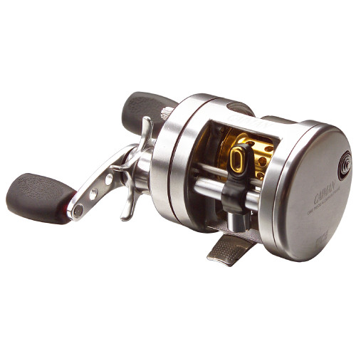 CAIMAN SILVER CASTING REELS