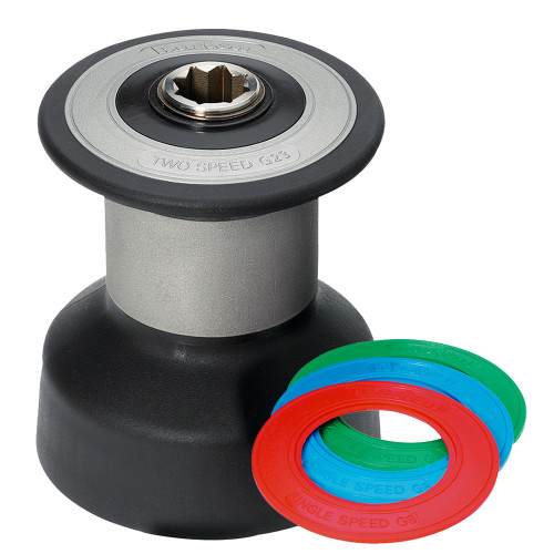 Barton Marine Single Speed 8:1 Sheet Winch