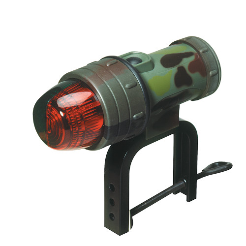 "Innovative Lighting Portable LED Navigation Bow Light w/Universal ""C"" Clamp - Camouflage"