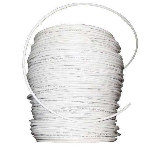 Cobra Wire RG59/U 75 ohm Cable A/V Use - 1000' - White