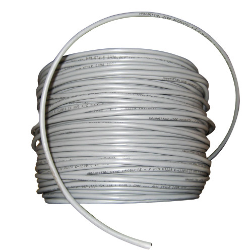 Cobra Wire 22/4 Shielded Comm Cable - NMEA 0183 - 500' - Grey