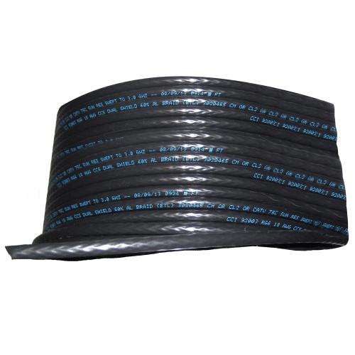 Cobra Wire RG/6 75 ohm SAT/TV Cable - 1000' - Black