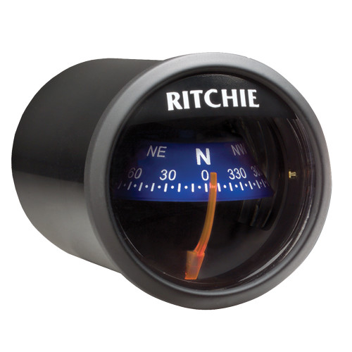 Ritchie X-21 RitchieSport Compass - Dash Mount (Available Colors: White/Black,Black/Black and Black/Blue)