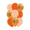 9pcs 11'' Safari Animal Print Balloons Cluster - Fashion Color