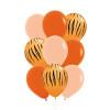 9pcs 11'' Safari Animal Print Balloons Cluster - Fashion Color